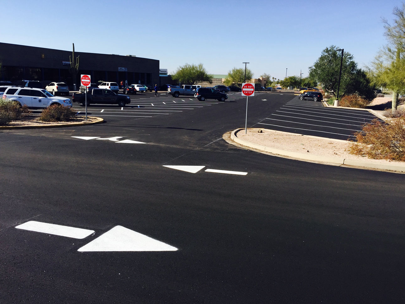 Commercial Asphalt Maintenance